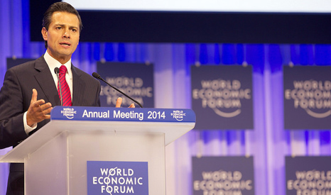 Mexico President Pena Nieto (Pic: World Economic Forum/Flickr)