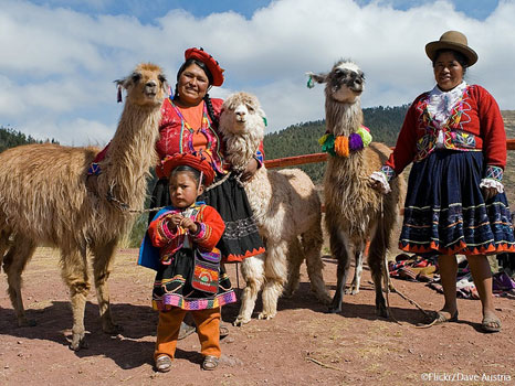 Indigenous people in Peru, where this year's UN climate conference will take place (Pic: International Development Law Organization/Flickr)