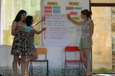 Pic: Balkan Climate Youth Movement