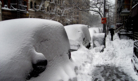 It will still snow sometimes in a warming world (Pic: Flickr/dickuhne)