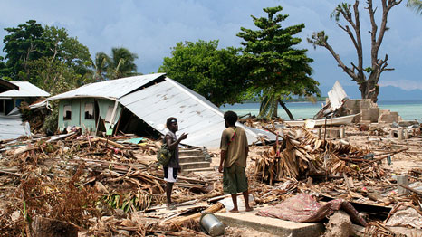 The Solomon Islands confronted severe damage following the 2007 tsunami (Pic: Department of Foreign Affairs and Trade/Flickr)