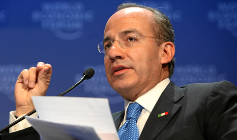 Felipe Calderon, former president of Mexico, spearheaded the enquiry