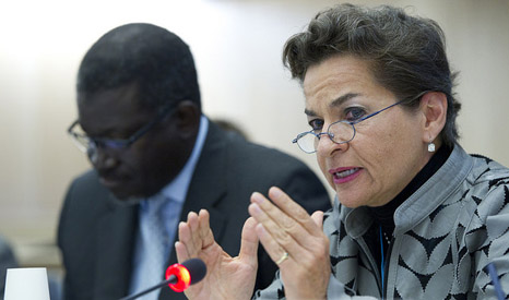 UN climate chief Christiana Figueres (Pic: UNFCCC/Flickr)