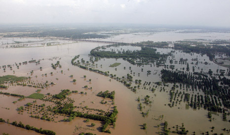 Severe flooding has hit large parts of the Punjab in India and Pakistan (Pic: UN Photo/Evan Schneider)
