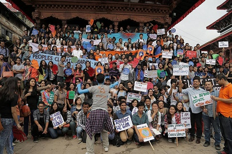Kathmandu, Nepal (Pic: Flickr/Climate March)