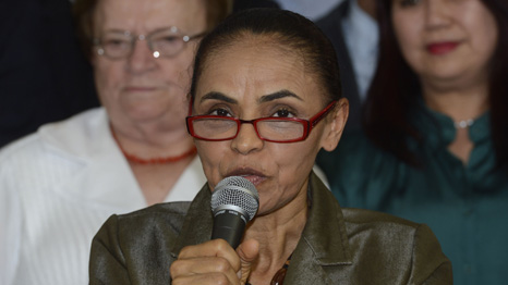 Marina Silva could become Brazil's first black president