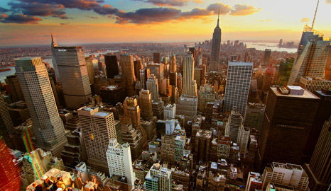 Start spreading the news... it's all happening in New York (Pic: Flickr/Jerry Ferguson)