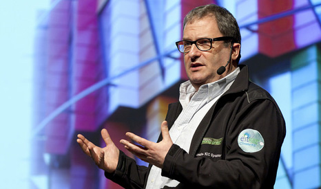 Richard Templer, UK director of Climate-KIC, champions green innovation (Pic: Climate-KIC/Jan-Olof Yxell)