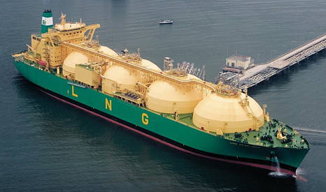 Liquified Natural Gas (LNG) is being sold as a green replacement to coal (Pic: Shell/Flickr)