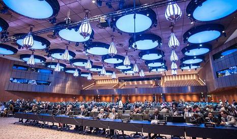 Delegates at the 2012 UN climate summit in Doha, Qatar (Pic: UNFCCC/Flickr)