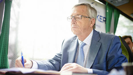 Back to the drawing board: Jean-Claude Juncker must rethink some of his choices (Pic: Flickr/Jean-Claude Juncker)