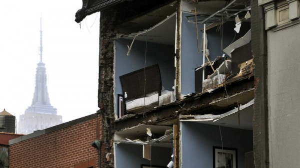 A New York building damaged by Hurricane Sandy. The US wants to emphasise climate change is not just a threat to developing countries (Pic: Flickr/Diariocritico de Venezuela)