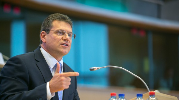 Maros Sefcovic is lined up to lead Europe's energy union project (Pic: Flickr/epp group)