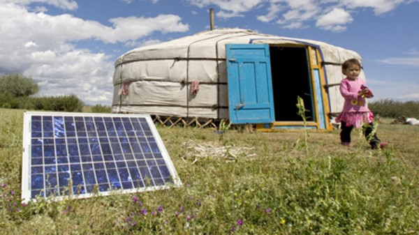 Small off-grid solar can offer cheaper and faster energy solutions than fossil fuels (Pic: UN Photos)
