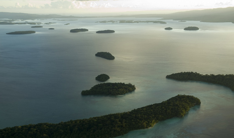 Residents of the Solomon Islands say rising sea levels have forced them to evacuate some atolls (Pic: UN Photos)
