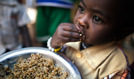 Climate impacts are expected to reduce foot production, raising fears of increased levels of hunger (Pic: UN Photo/Albert Gonzalez) Farran