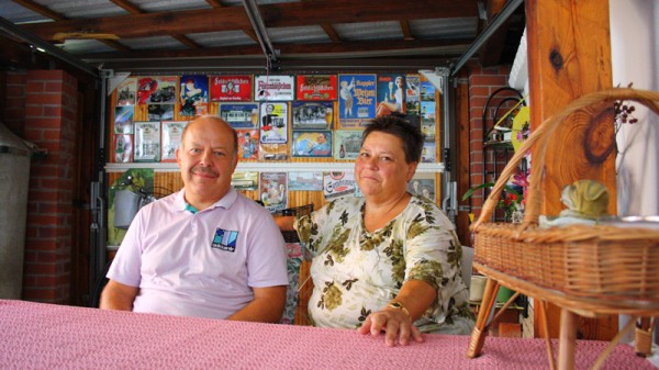 Volker and Ingrid Glaubitz are in favour of the new mine