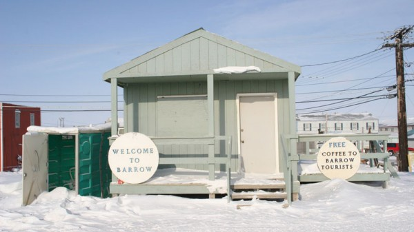The visitors' centre in the speedily warming town of Barrow, Alaska (Pic: Terry Feuerborn/Flickr)
