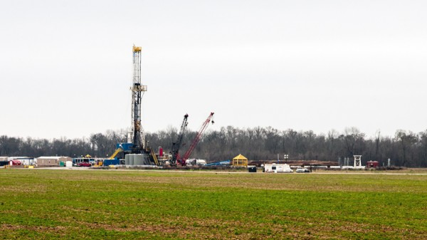 A fracking rig in Louisiana (Pic: Flickr/Daniel Foster)