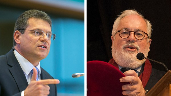 Maros Sefcovic and Miguel Arias Canete will lead the EU's climate policy (Pic: Flickr/epp group;Partido Popular de Cantabria)