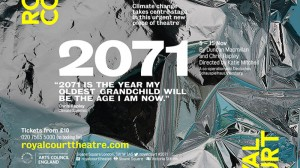 Review: 2071, Royal Court Theatre