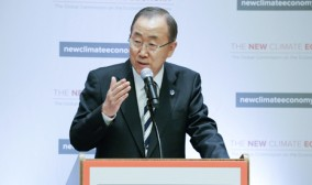 Ban Ki-moon: World leaders are ready to sign climate deal