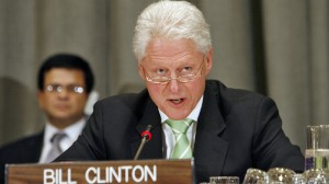 "Bill Clinton: IPCC climate report is ""wake up call"""
