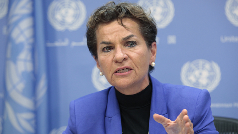 Christiana Figueres, Executive Secretary of the United Nations Framework Convention on Climate Change (Pic: UN Photos/Sarah Fretwell)