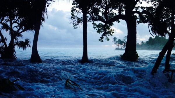 On average just 2m above sea level, the Marshall Islands are vulnerable to storm surges (Pic: Alson J Kelen)