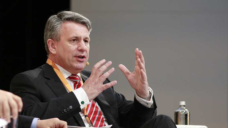 Shell CEO Ben Van Beurden is one of the signatories on the letter to the UN's climate chief (Pic: Shell/Flickr)