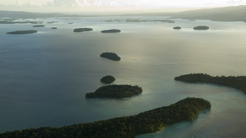 Some parts of the Solomon Islands could disappear as sea levels rise (Pic: UN Photos)