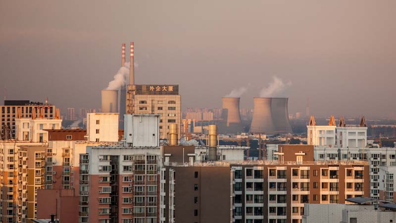 China plans to clean up heavy industry, but could economic slowdown stymie progress? (Pic: Flickr/Jens Schott Knudsen)