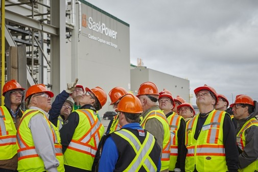 SaskPower's Boundary Dam station in Canada officially opened last month, as the world's first coal power plant with CCS (Pic: Flickr/SaskPower)