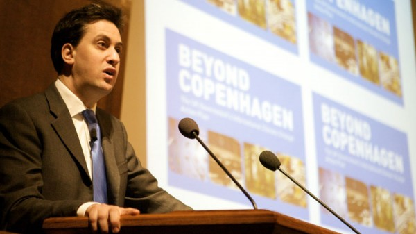 Ed Miliband: Copenhagen was necessary failure on road to Paris
