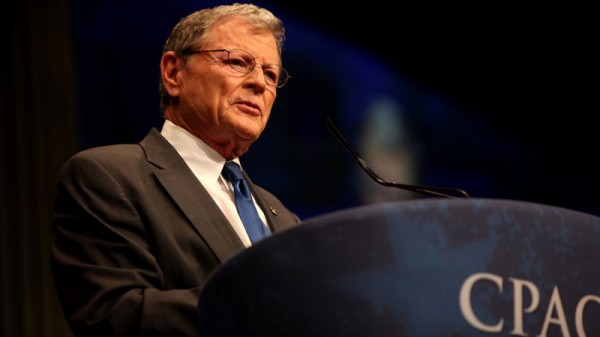 Sceptic Inhofe set to lead Republican resistance to climate policy