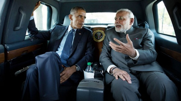 India president Narendra Modi visited the US in September. Barack Obama is set to return the visit in January (Pic: Official White House Photo/Pete Souza)