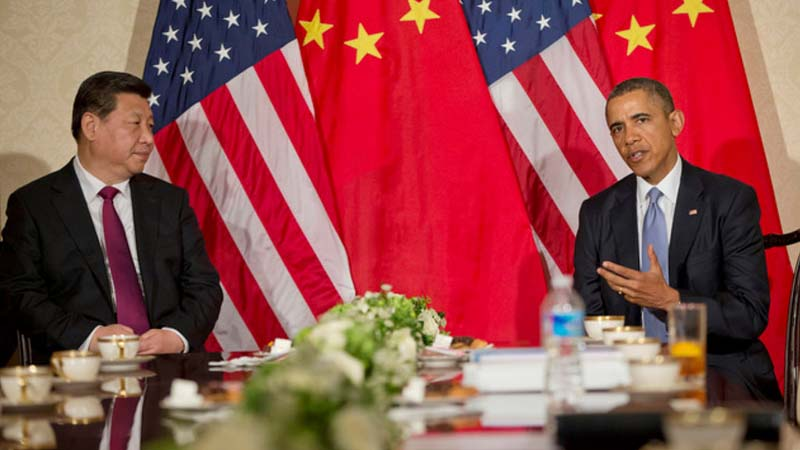 Presidents Xi Jinping and Barack Obama agreed to take joint action on climate change in November 2014  (Pic: Flickr/U.S. Embassy The Hague)