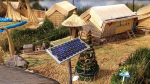 Peru's indigenous Uros people turn to solar power