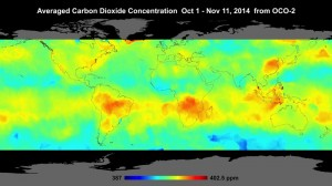 NASA CO2 map reveals impact of forest clearance