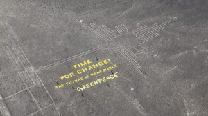 Greenpeace promises to make amends for Nazca Lines stunt