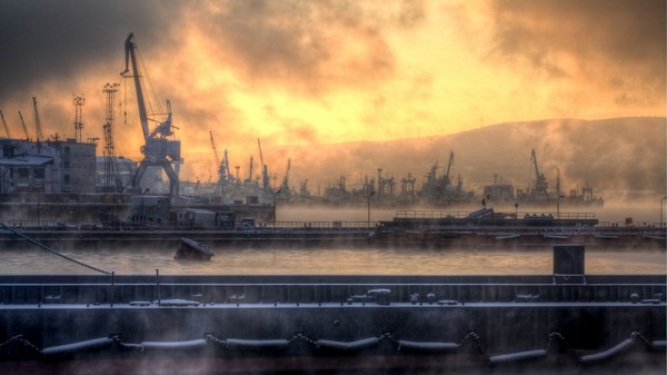 Murmansk harbour: Russia is the only major developed country with net emissions exports (Pic: Flickr/euno)