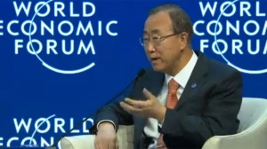 """Ban Ki-moon: Lack of focus on green investment """"troubling"""""""