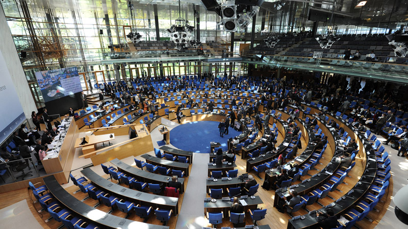 Negotiating chamber, Bonn (Pic: UNFCCC/Flickr)