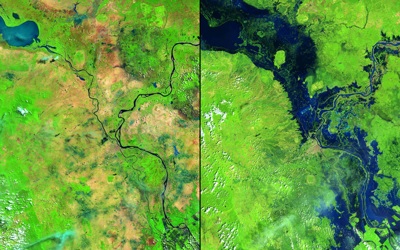"Pic: U.S. Geological Survey (USGS) Landsat Missions Gallery ""Flooding in Cambodia,"" U.S. Department of the Interior / USGS and NASA"