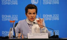UN climate chief: Carbon bubble is now a reality