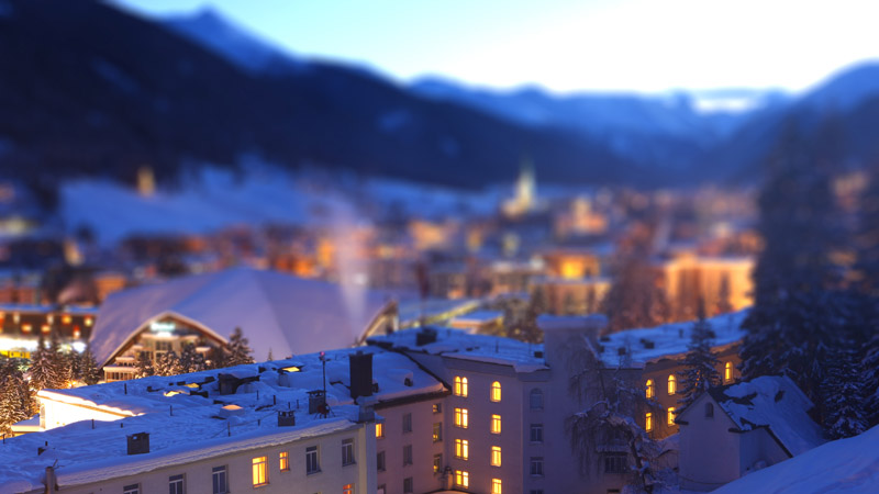 The annual World Economic Forum takes place in the small Swiss town of Davos (Pic: Flickr/moonstar909)