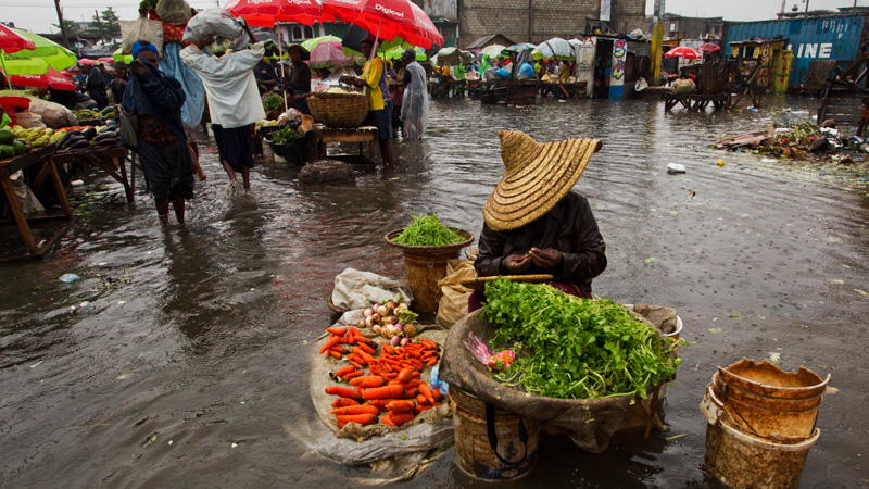 Haiti is regularly hit by heavy rains and flooding, slowing attempts to alleviate poverty levels in the country (Pic: UN Photos)
