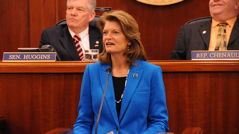 Republican Lisa Murkowski, a senator from Alaska, is leading the charge for Keystone (Pic: Flickr/Lisa Murkowski)