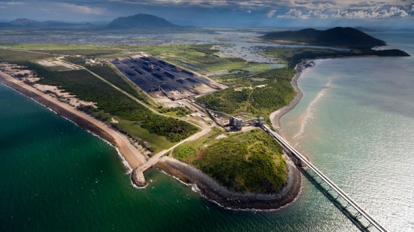 Abbot Point port is a gateway for coal from the Galilee Basin (Pic: Greenpeace/Tom Jefferson)