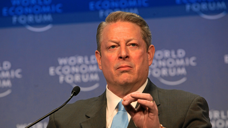 Al Gore (Pic: Flickr/World Economic Forum)